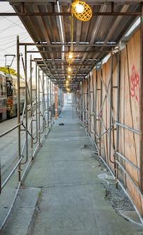 Échafaudages de construction