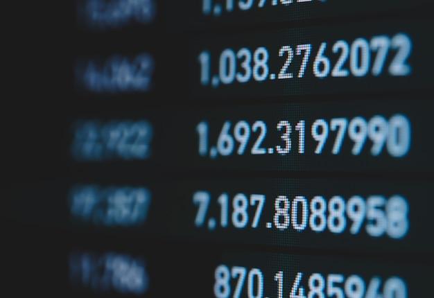 Échange de crypto-monnaie