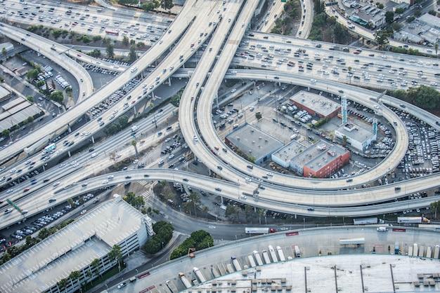 Échangeur, boucles et autoroutes