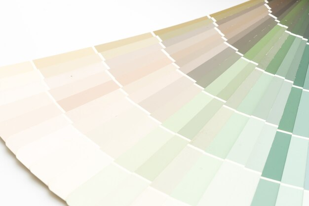 Échantillon de couleurs catalogue pantone