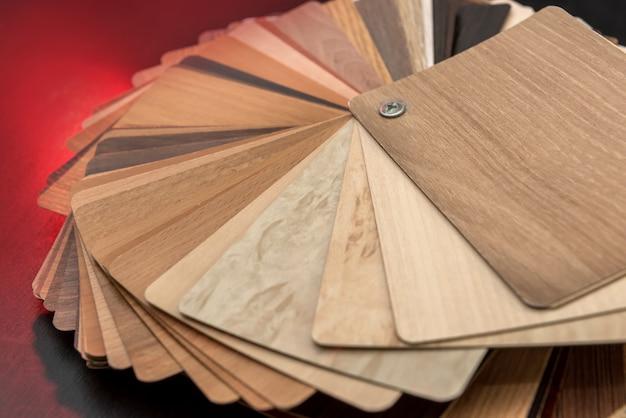 Échantillonneur de matériaux en bois