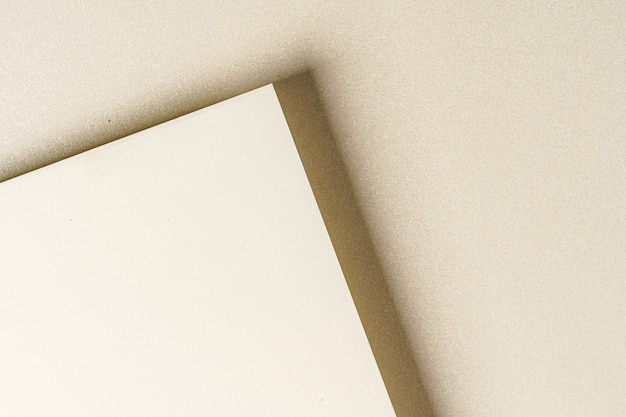Des échantillons de papier pour les affaires et les arts se bouchent, copiez l'espace