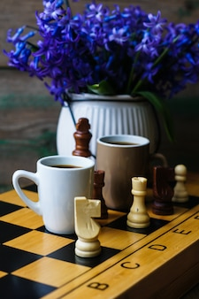 Echecs et café