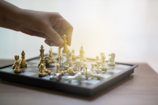 Échecs, compétition d'échecs, victoire aux échecs, match de victoire