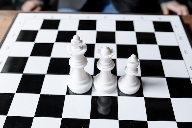 Les échecs défient la planification de la stratégie commerciale au concept de réussite