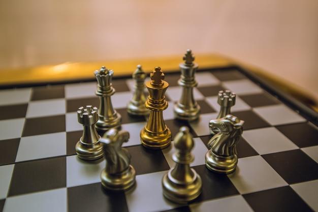 Les échecs, c'est comme faire des affaires, pour le futur, gagner la concurrence.