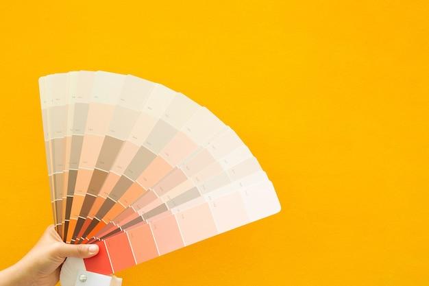 Échelle de couleurs
