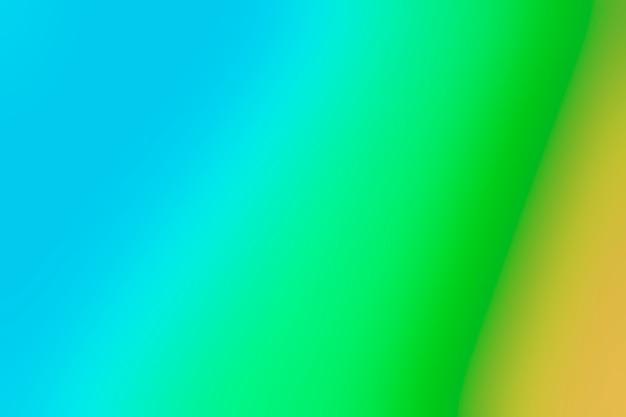 Échelle de mélange vert et bleu