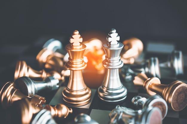 Échiquier - une idée commerciale compétitive pour réussir.
