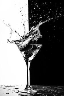 Éclaboussure de martini