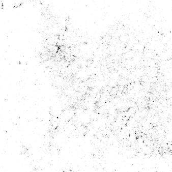 Éclaboussures d'encre grunge noir et blanc