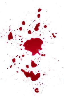Éclaboussures de sang
