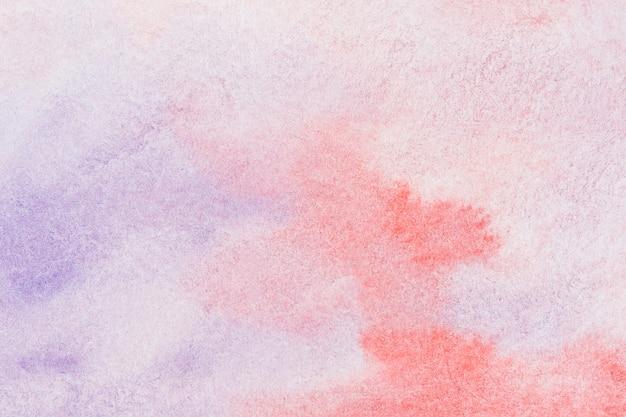 éclaboussures de toile de fond aquarelle rouge et violet