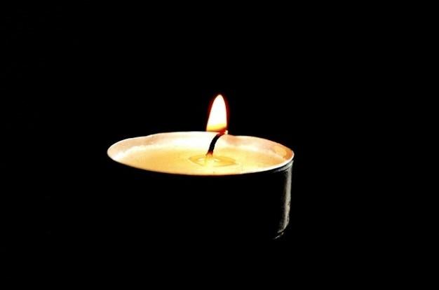 Éclairage de fond victimes de mémoire feu rip