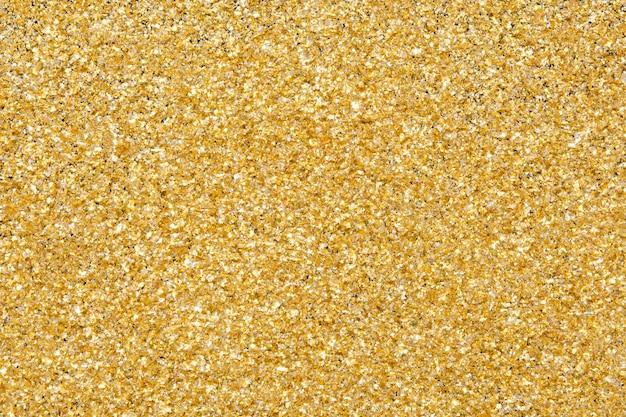 Éclat de texture de paillettes d'or
