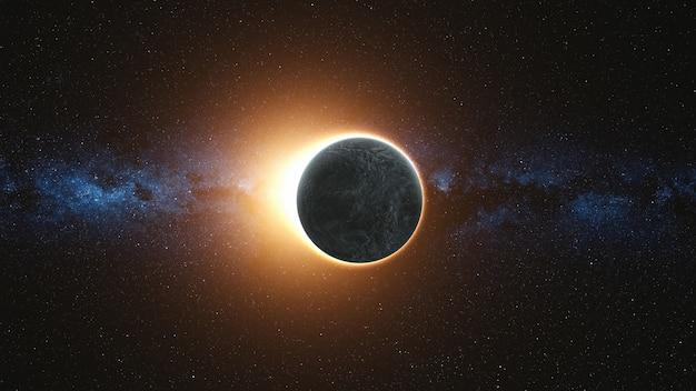 Éclipse solaire complète