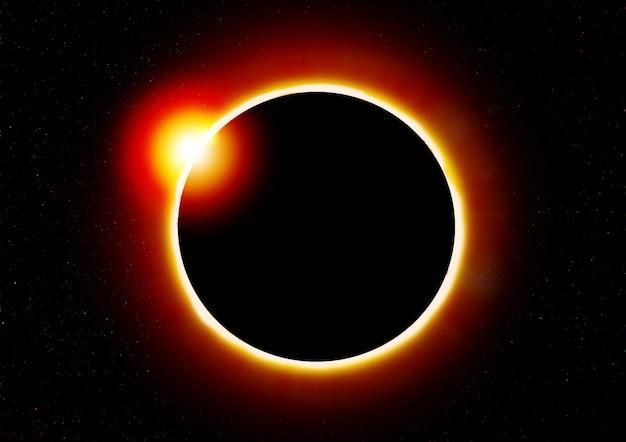 Éclipse solaire.