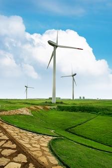 Eco power, éoliennes