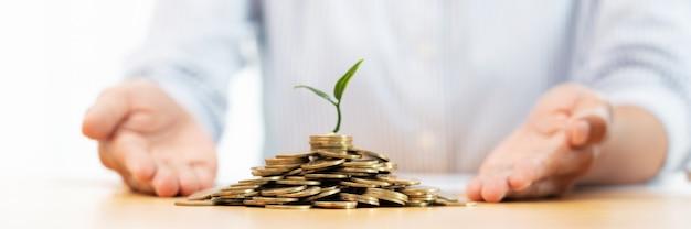 Économie d'argent et concept d'investissement