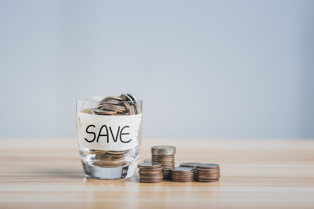 Économiser de l'argent concept