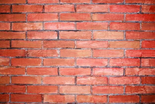 Économiseur d'écran de brique mur de briques vides brique rouge grunge dans le mur