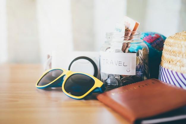Économisez de l'argent pour les voyages.