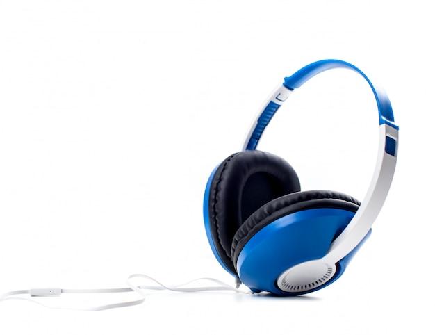 Écouteurs. isolé sur fond blanc