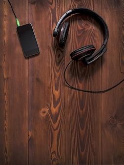 Écouteurs et smartphone mobile