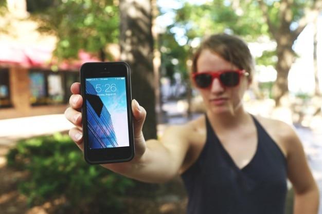L'écran du mobile