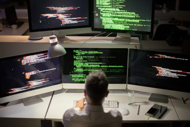 Écrire du code dans dim office