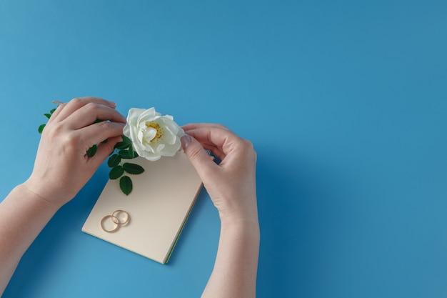 Écrire une invitation de mariage