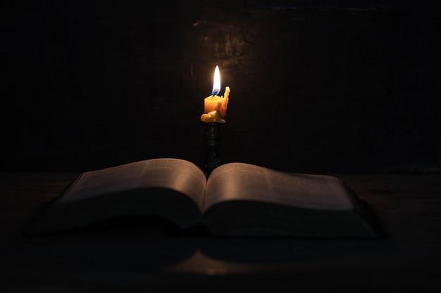 Ecriture avec des bougies