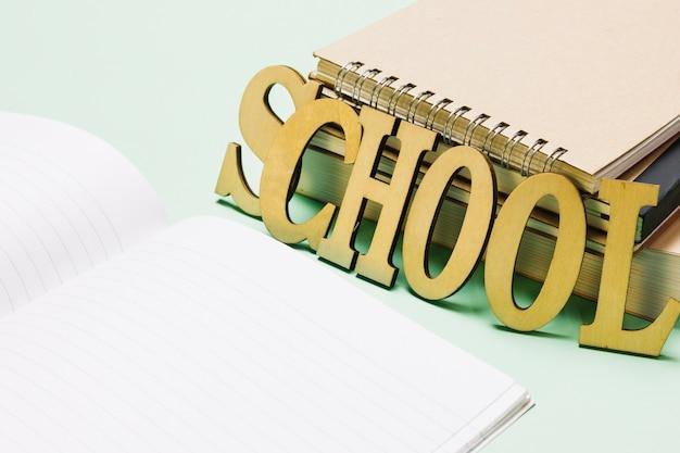 Écriture d'école et cahiers