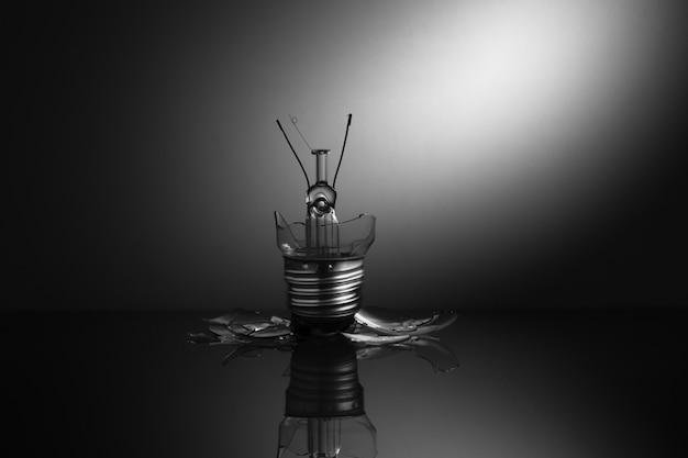 Effacer ampoule brisée
