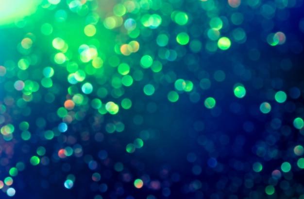 Effet d'éclairage paillettes bokeh colorfull floue abstrait pour anniversaire, anniversaire, mariage, réveillon ou noël