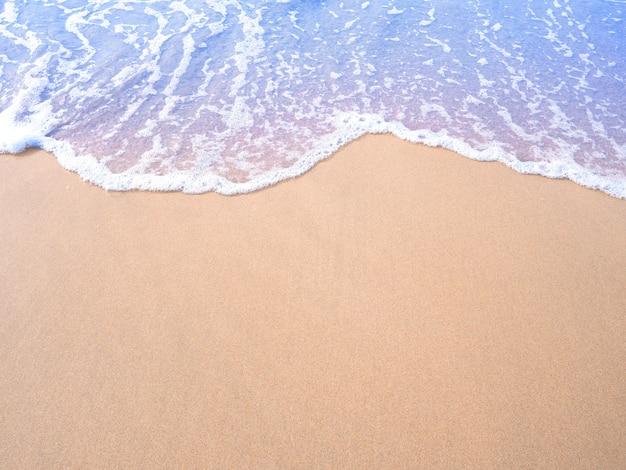 Effet de filtre vintage de vague d'eau de sable beige et pastel.