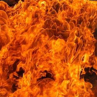 Effet flamme de feu pour le fond