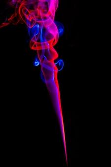 Effet de fumée abstrait