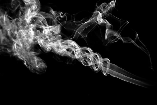 Effet fumée stock arrière et blanc