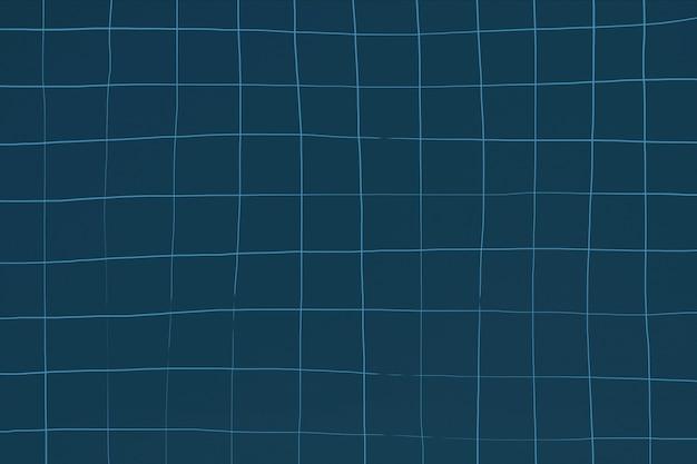 Effet d'ondulation de fond de texture de tuile de piscine bleu foncé