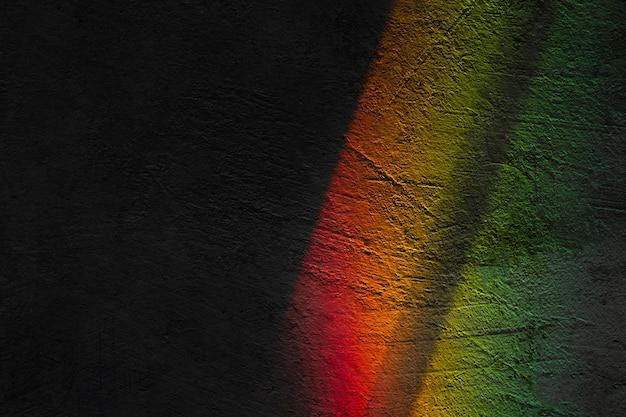 Effet de prismes de lumières se bouchent