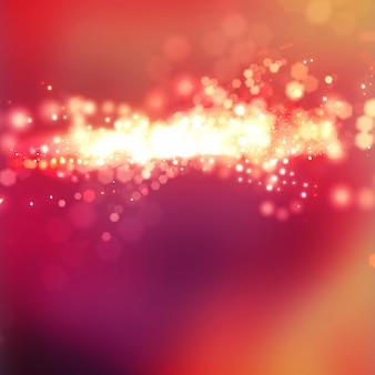 Effet rose style texture abstrait avec bokeh et étincelles rougeoyer