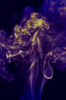 Effet de tourbillon de fumée mouvement