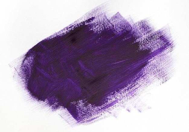 Effet de trait de pinceau violet