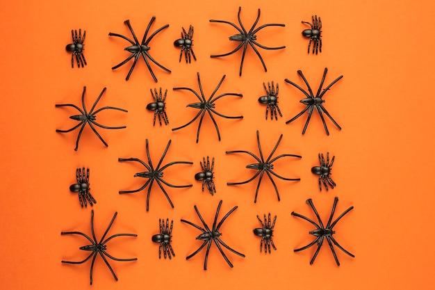Effrayant halloween araignées