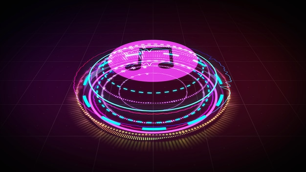 Égaliseur hologram music