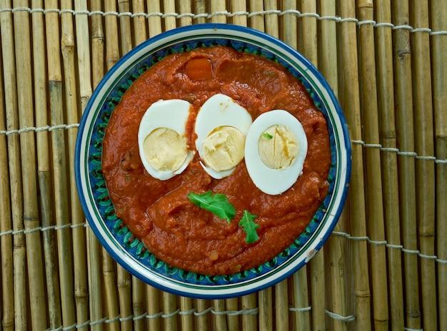 Eggs do pyaza plat indien classique