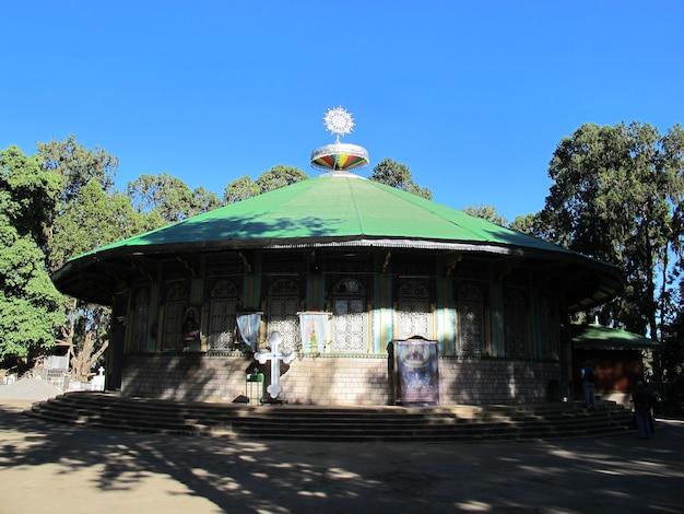 L'église à addis-abeba, ethiopie