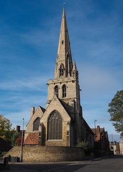 L'église all saints à cambridge