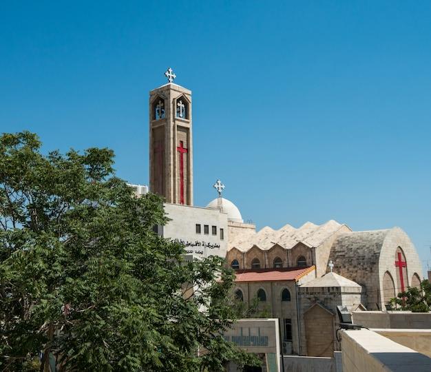 Église à amman, jordanie